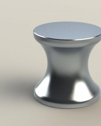 soporte de mesa en aluminio 50x50R25